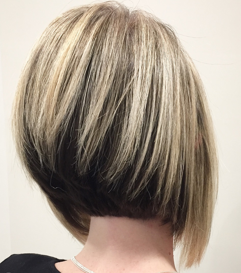 Undercut Inverted Bob