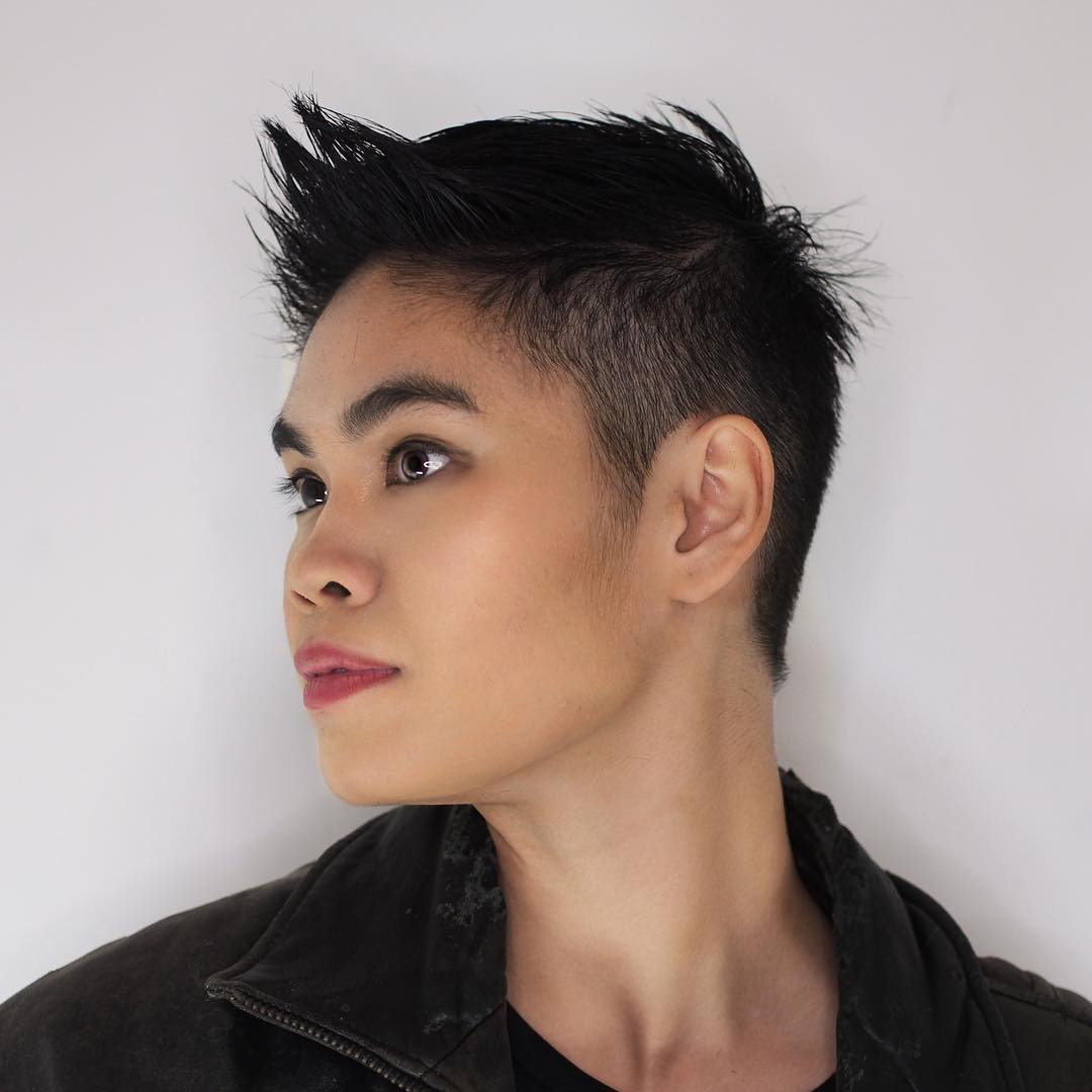 Short Pixie with Spiky Bangs