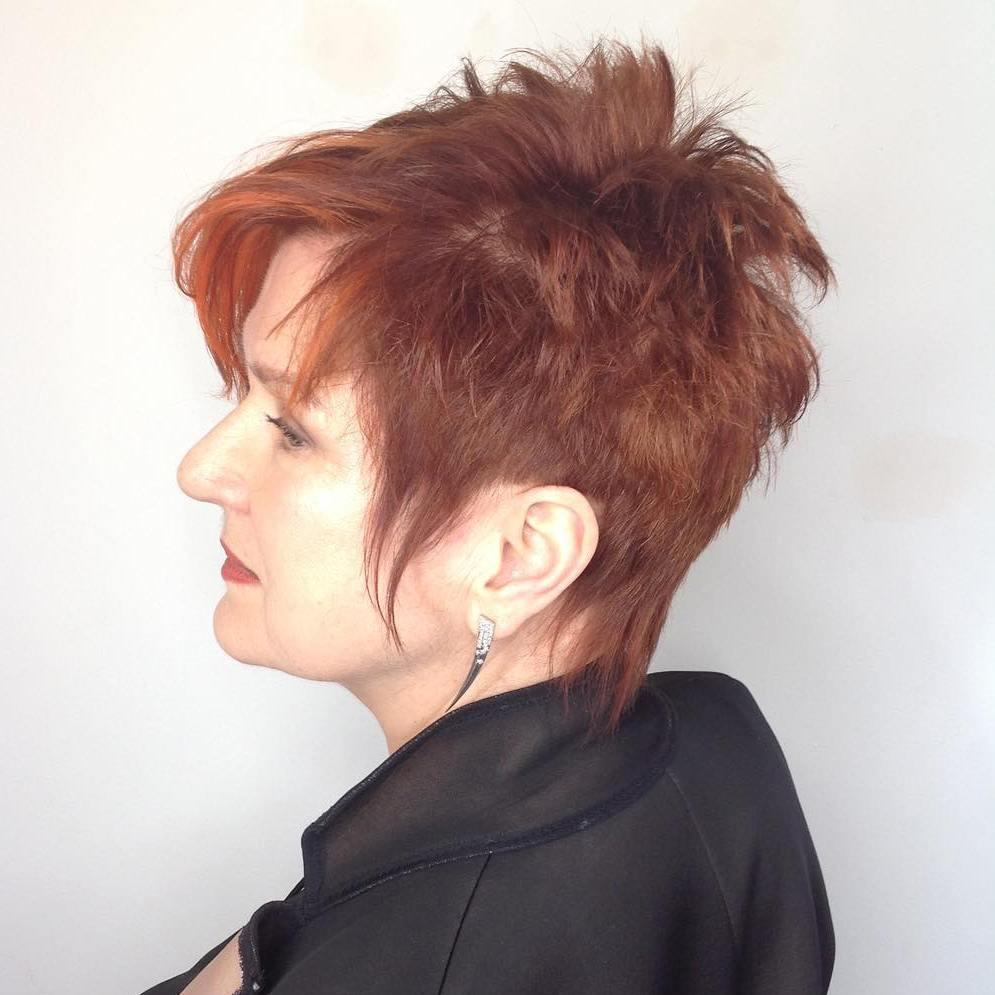 Trendy Spiky Pixie Hairstyle