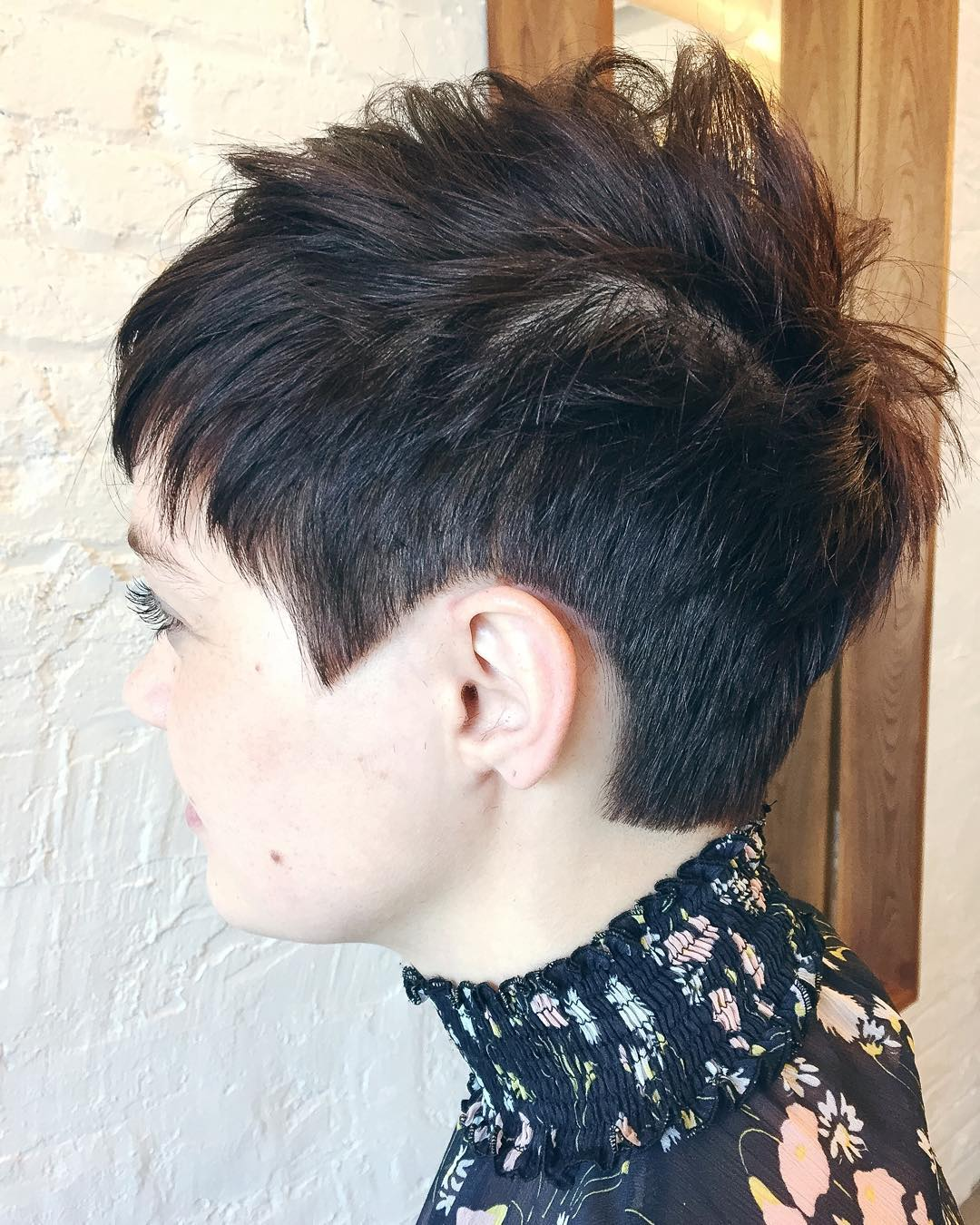 Short Clippered Pixie Fauxhawk