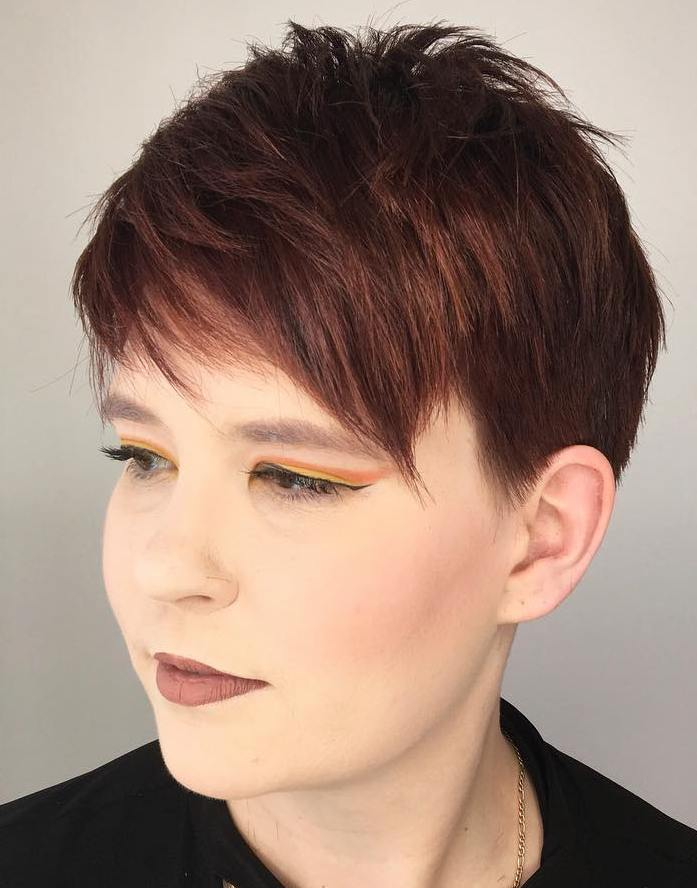 Easy Short Choppy Pixie