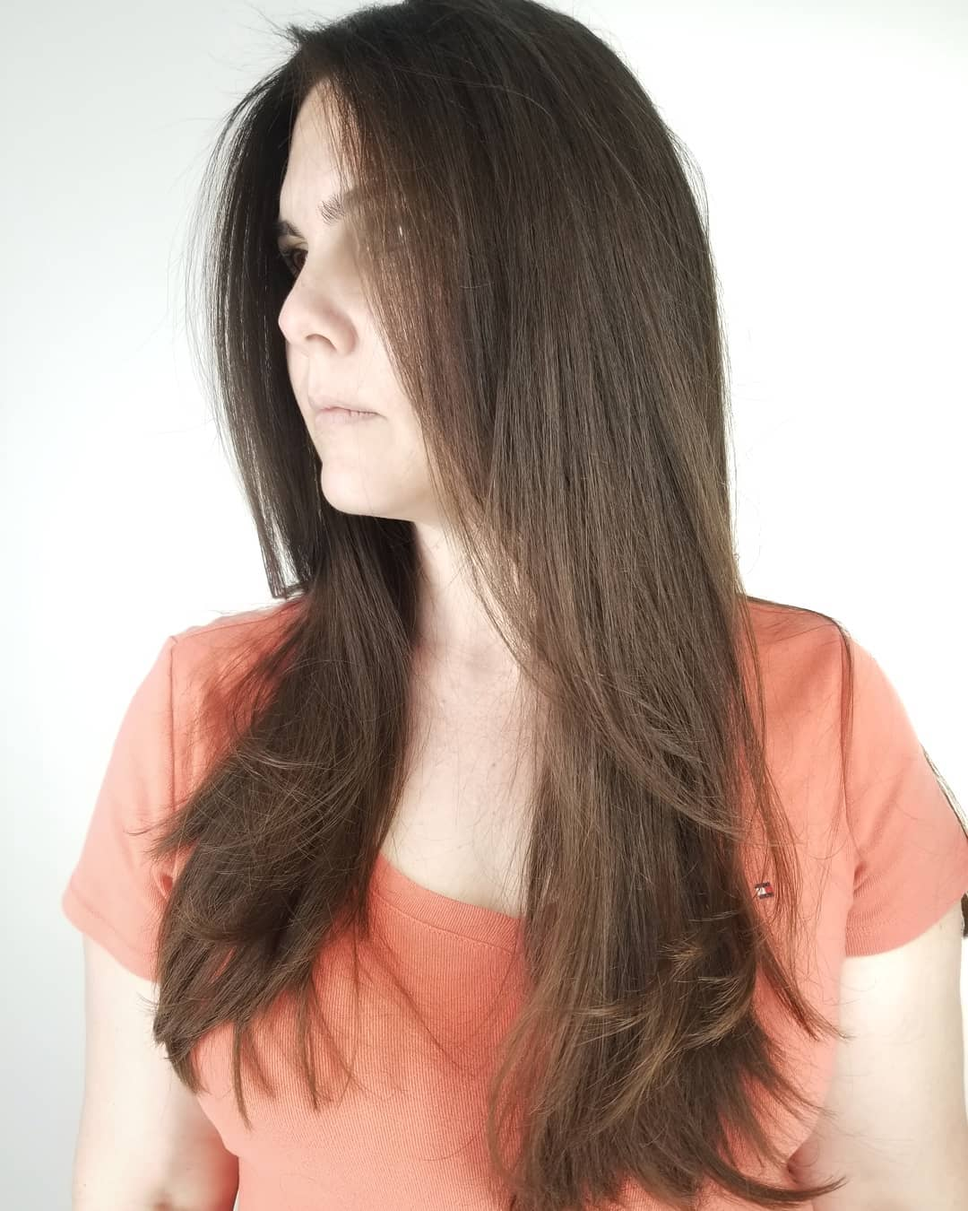 Blowout for Straight Hair with Layers