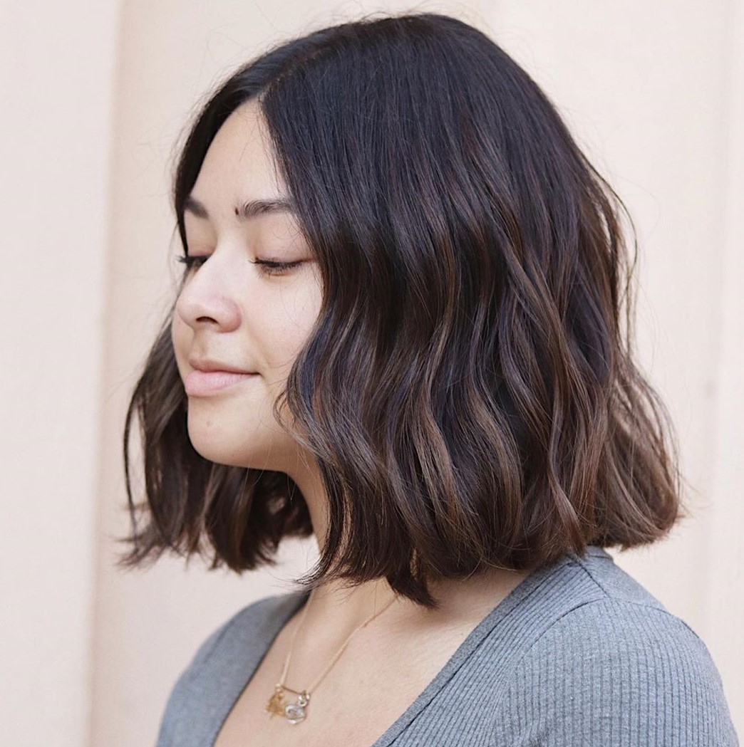 Long Bob with Soft Waves