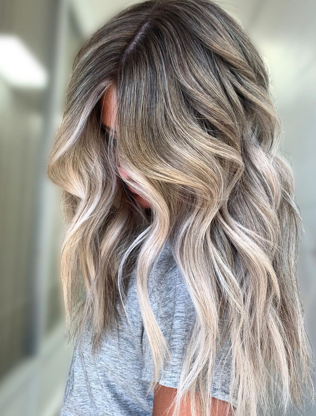 Blonde Balayage for Long Hair 2021