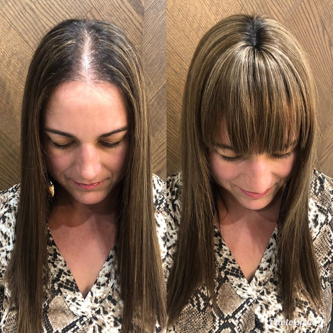 Clip In Bangs Extensions for Thin Hair