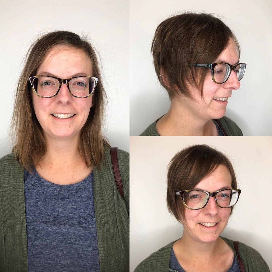 Side Swept Bangs for Thin Hair