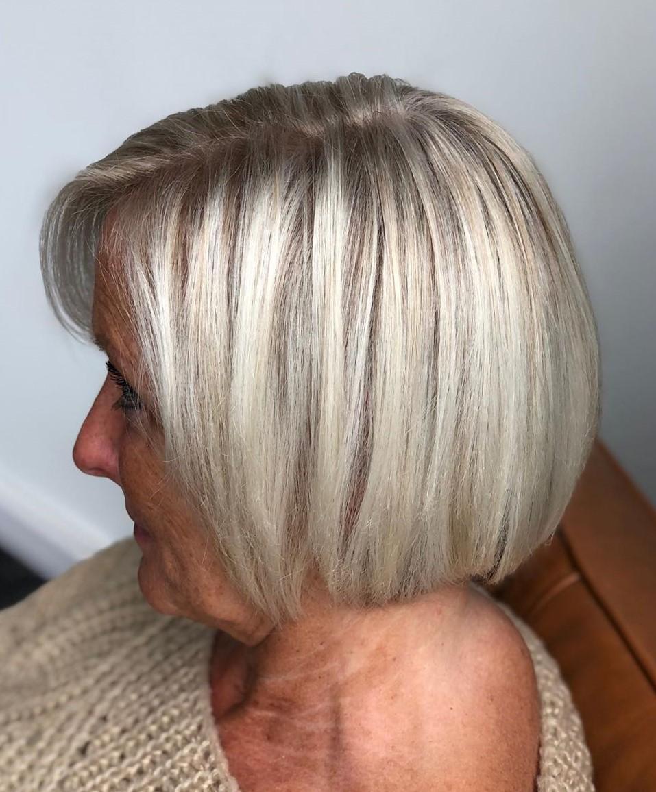 Bob Haircut for Thinning hair