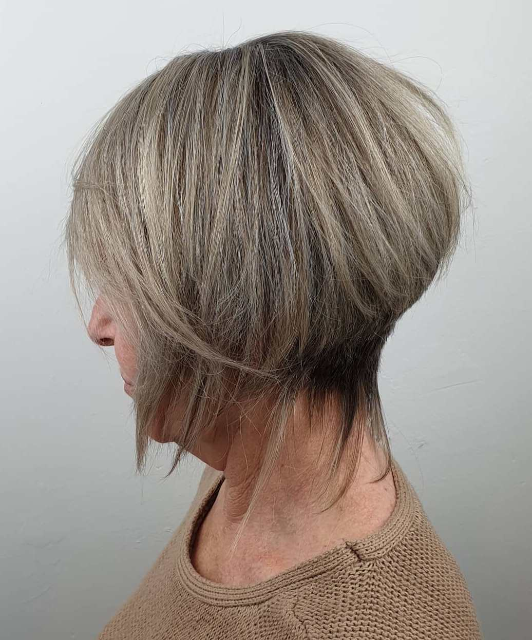 Gray Blonde Color for Women Going Gray