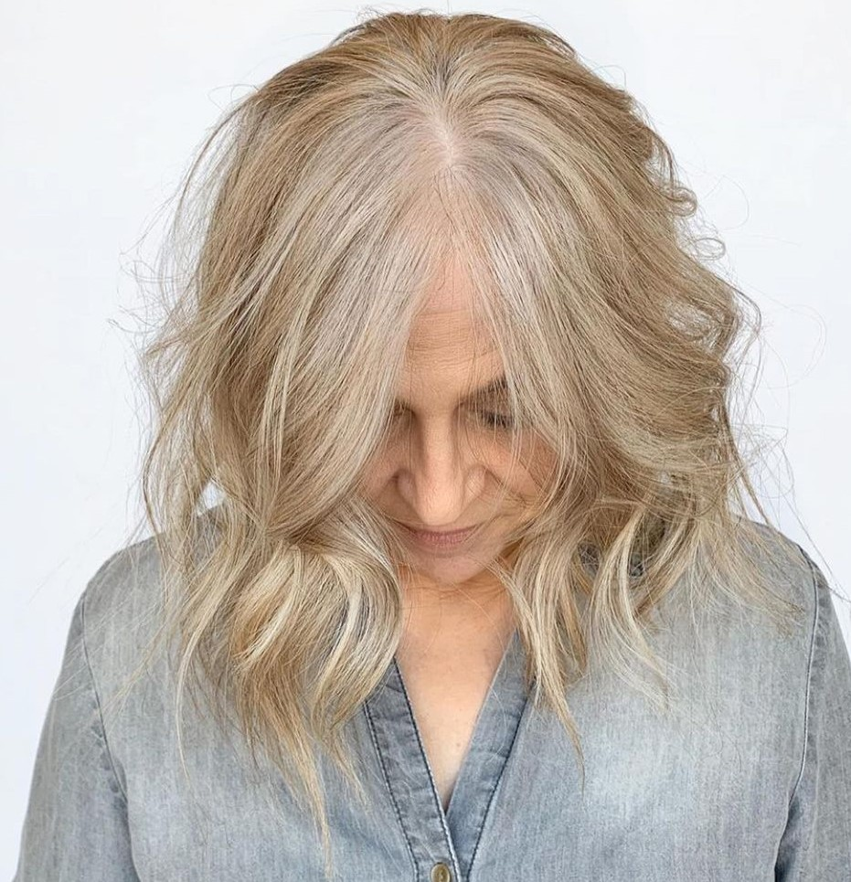 Over 60 Gray Blonde Hair Color