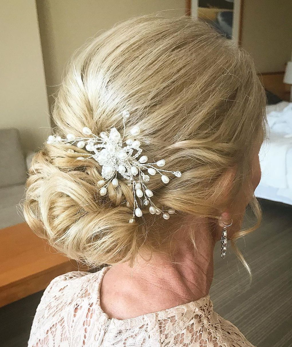 Wedding Bun Updo Hairstyle