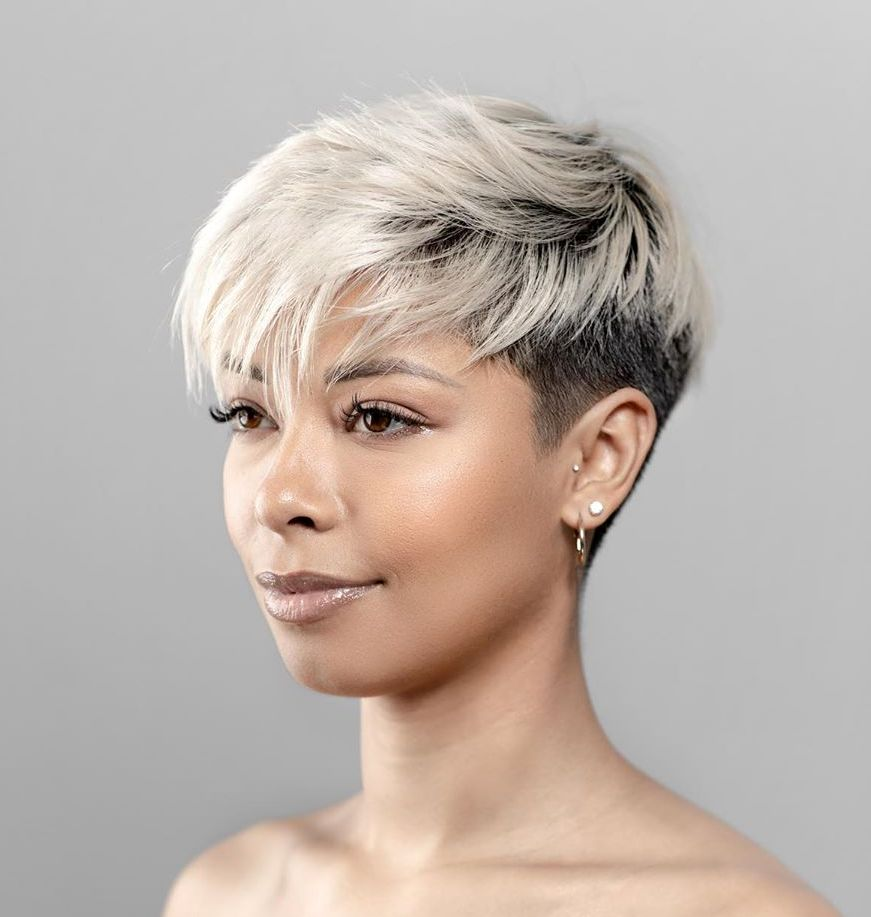 Super Short Undercut Pixie