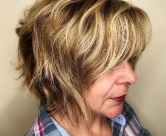 Warm Hair Color for a 50 Year Old Woman