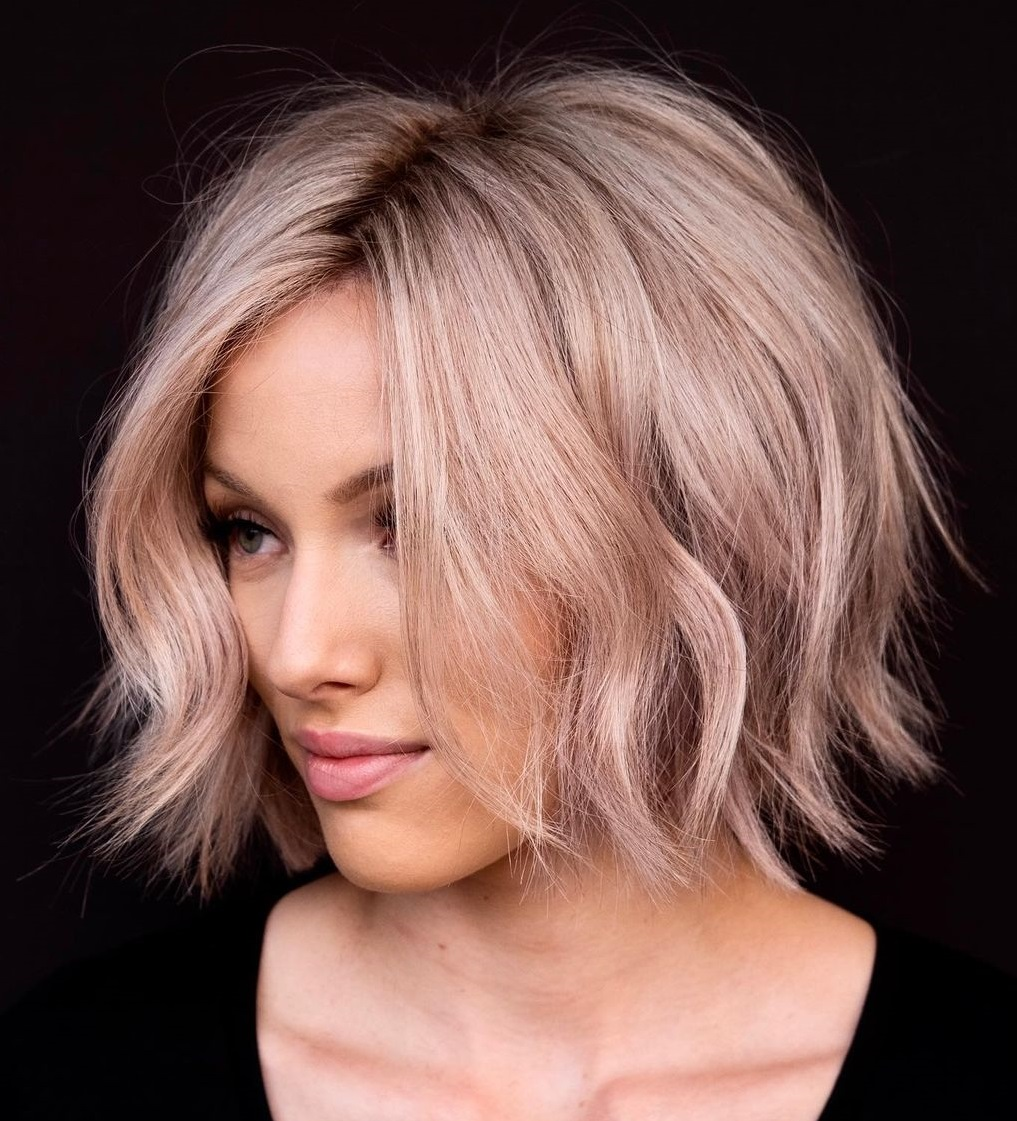 Disconnected Bob Haircut for Women