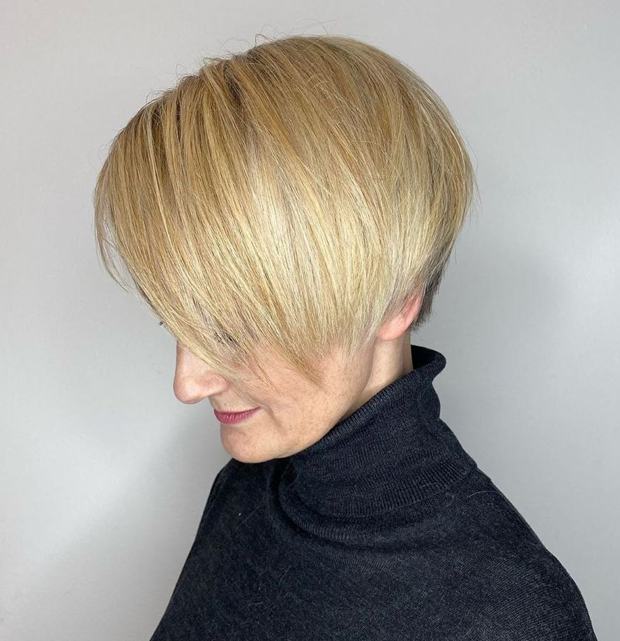 Cute Short Hairstyle with Razored Layers