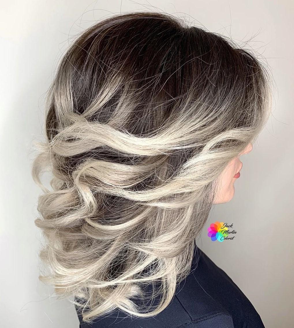 Medium Short Haircuts with Balayage