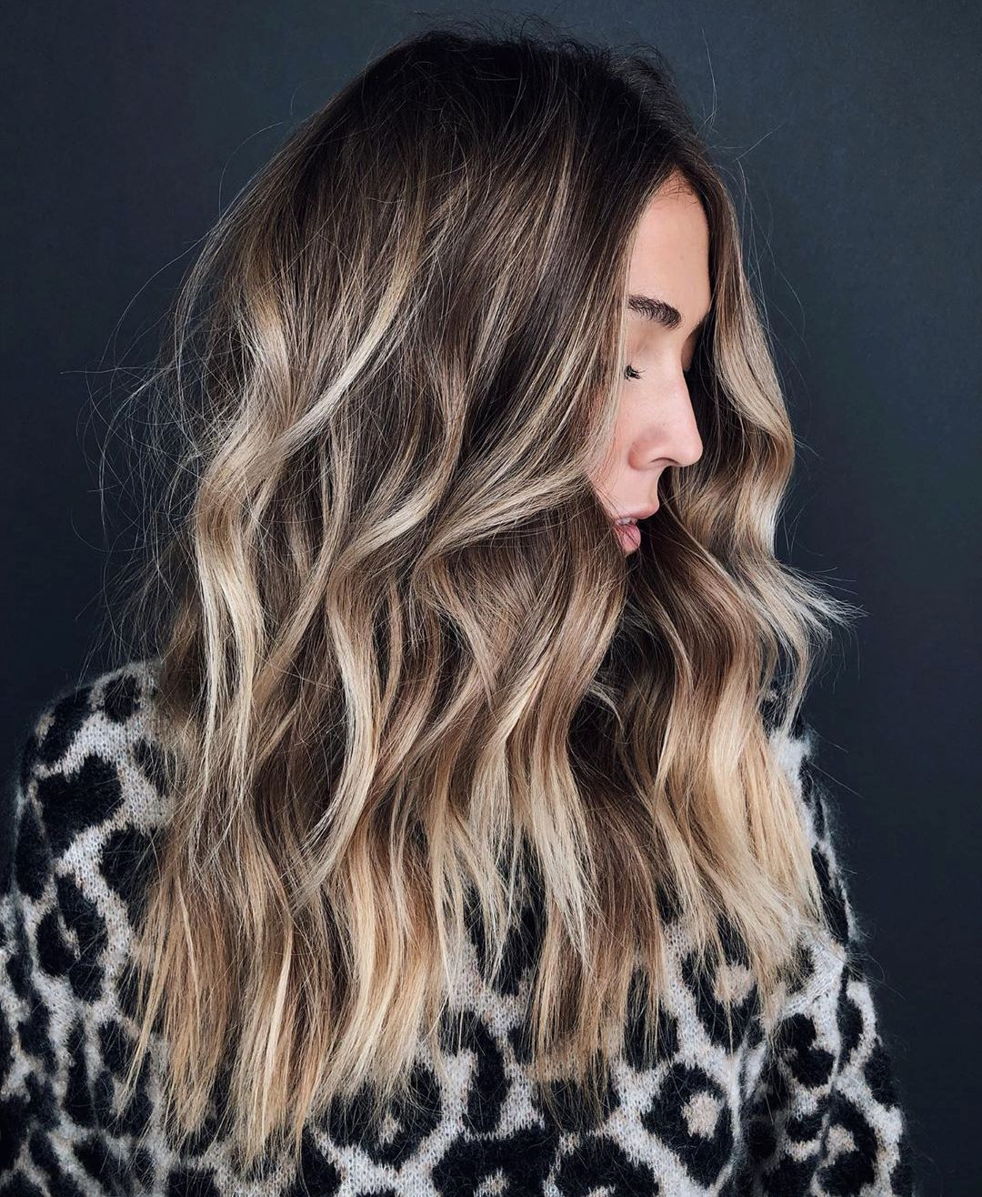 Dimensional Blonde Balayage Highlights