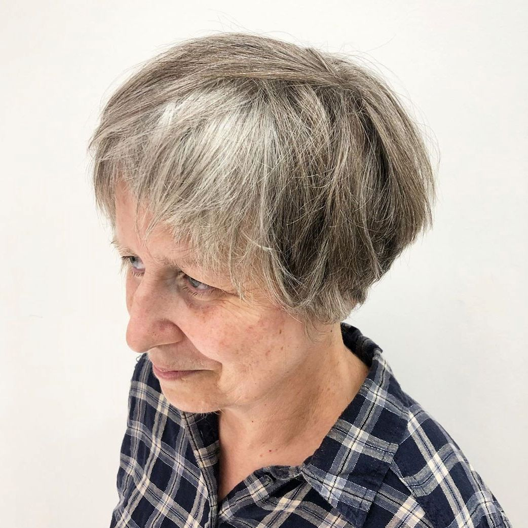 Bowl Cut with Textured Layers