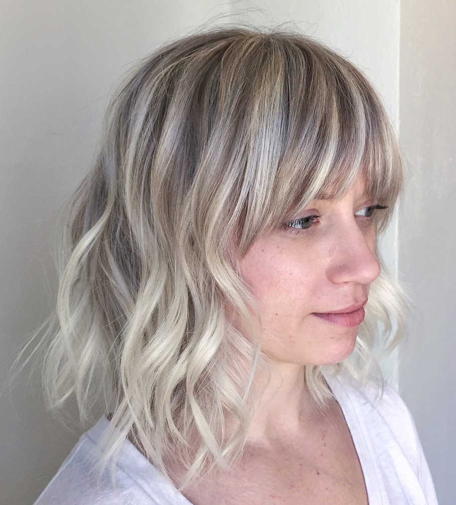 Sweet Hairstyle with Bangs