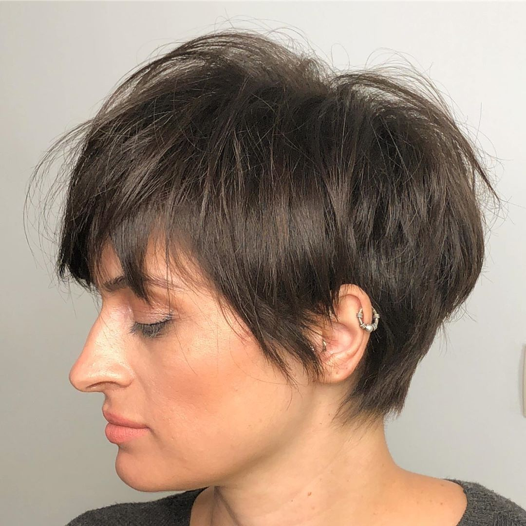 Messy Pixie with Feathered Layers