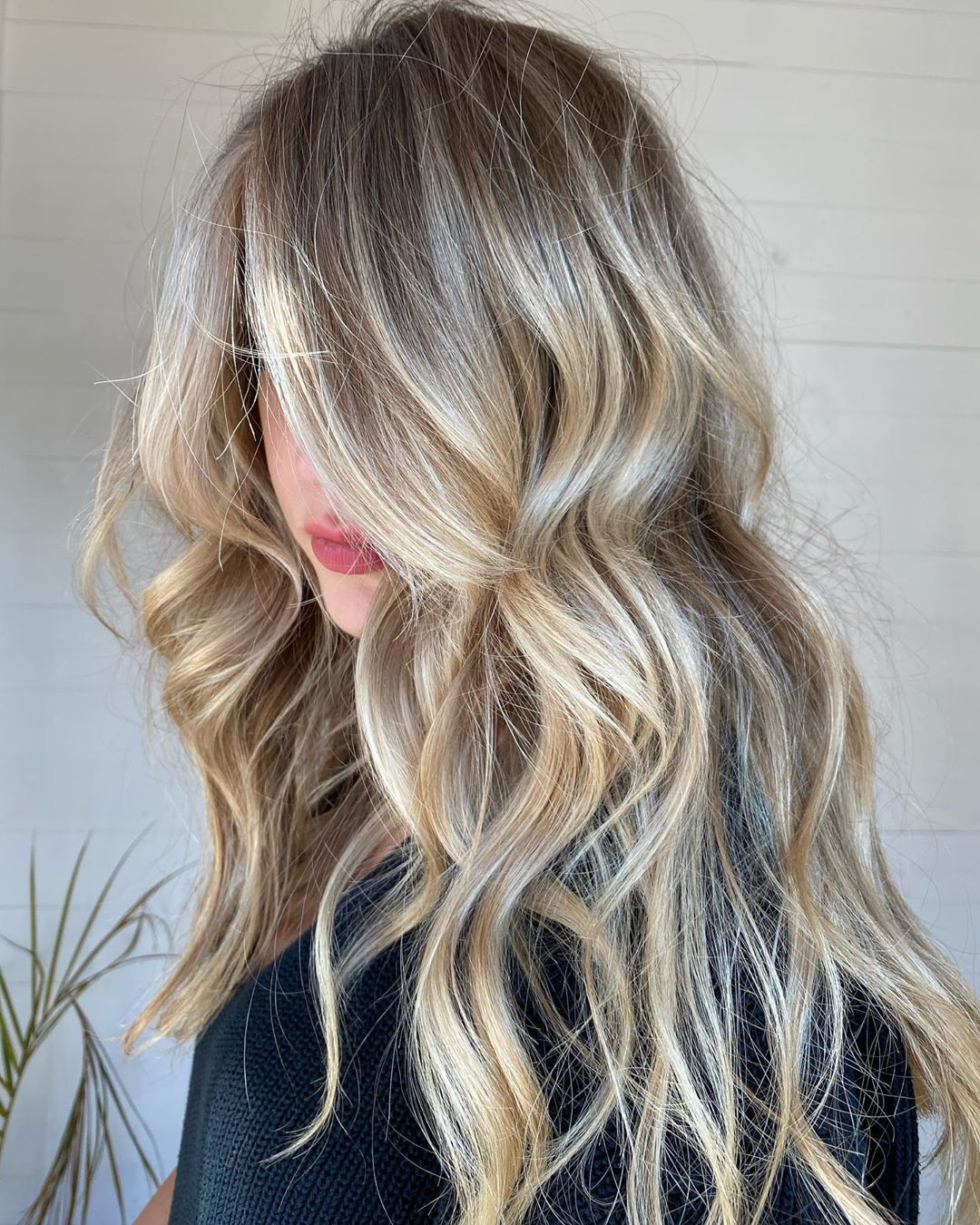 Platinum Balayage Highlights