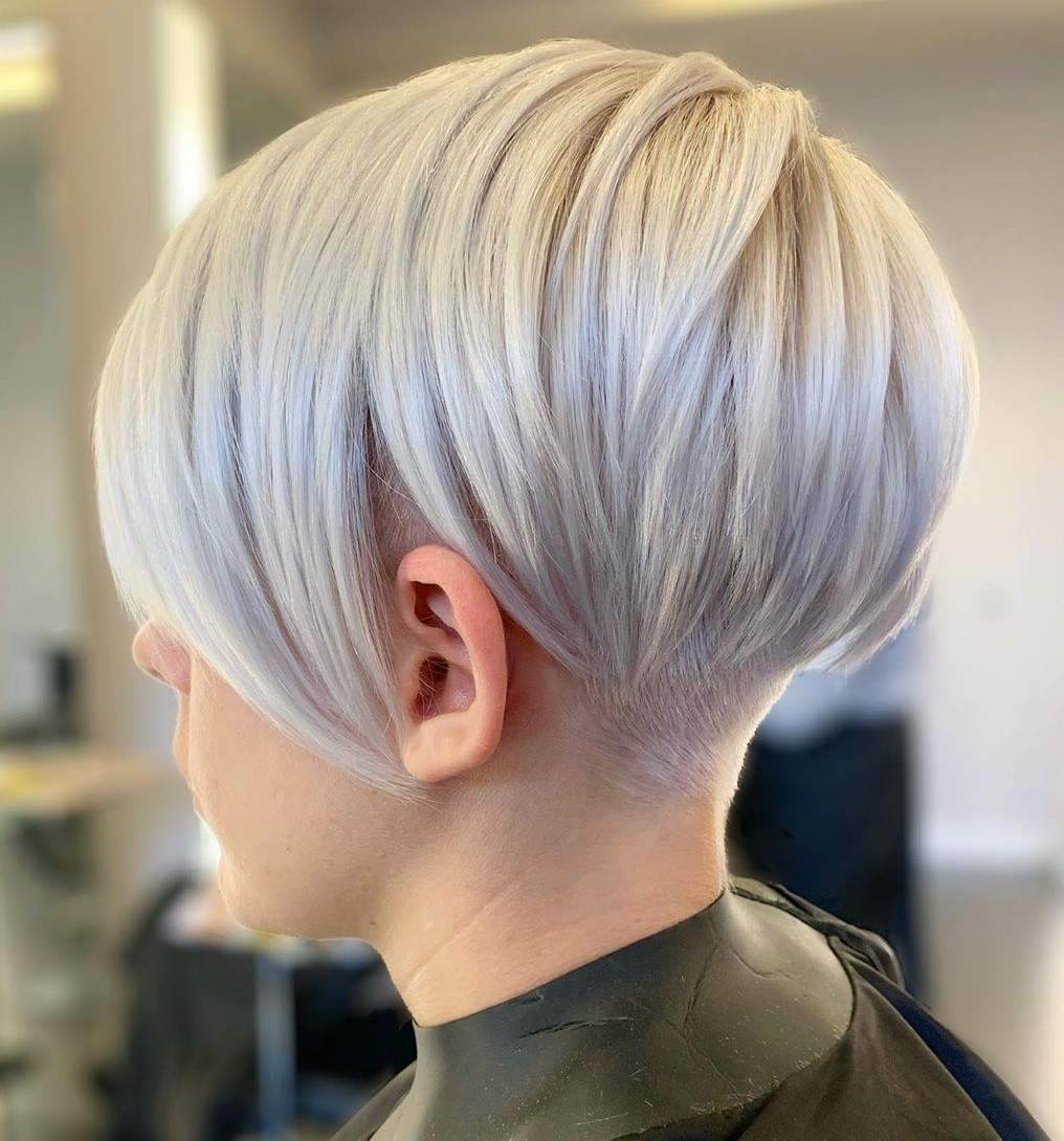 Sleek Undercut Pixie