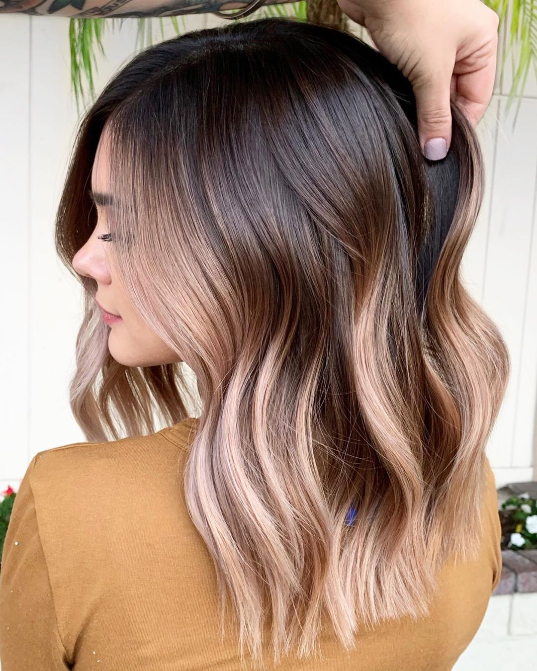 Chocolate Latte Ombre