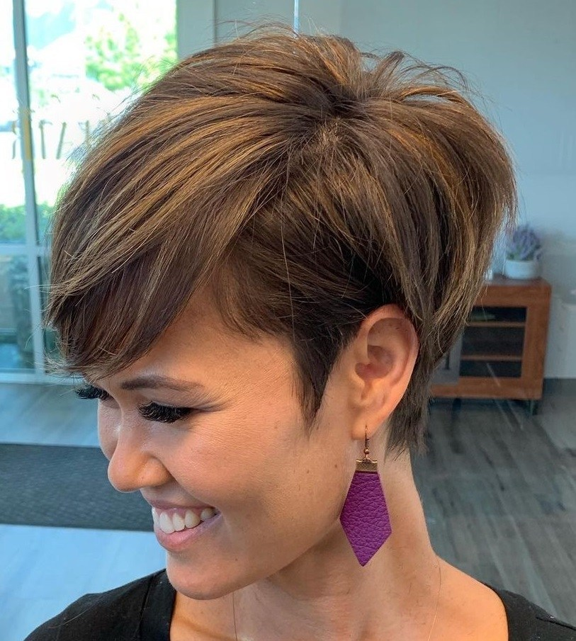 Low-Maintenance Undercut Pixie 2021