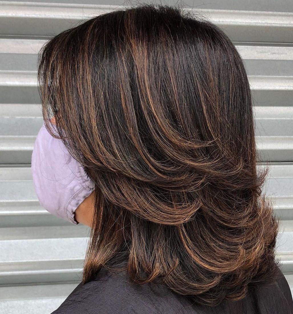Medium Short Haircut with Layers
