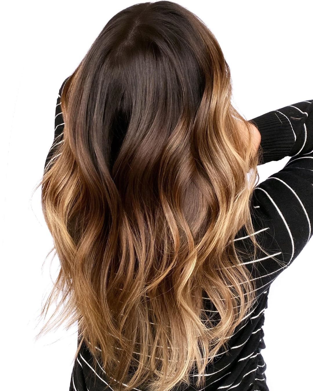 Brunette Ombre for Long Hair