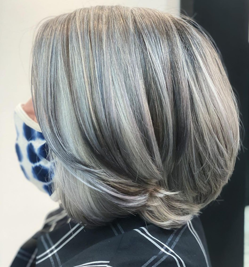 Highlights and Lowlights for Gray Hair