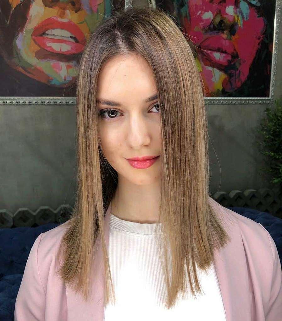 Blunt Cut for Long Thin Hair