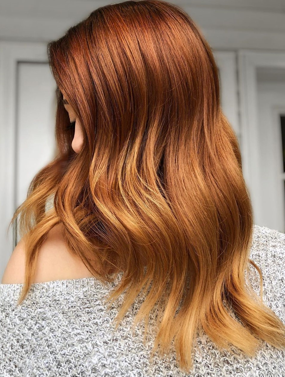 Subtle Ombre for Copper Hair