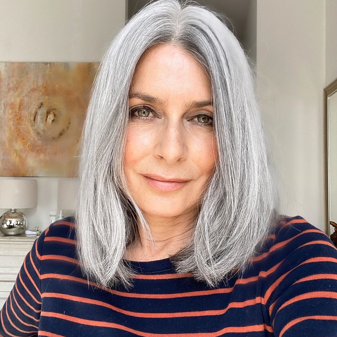 Transition to Light Gray Hair