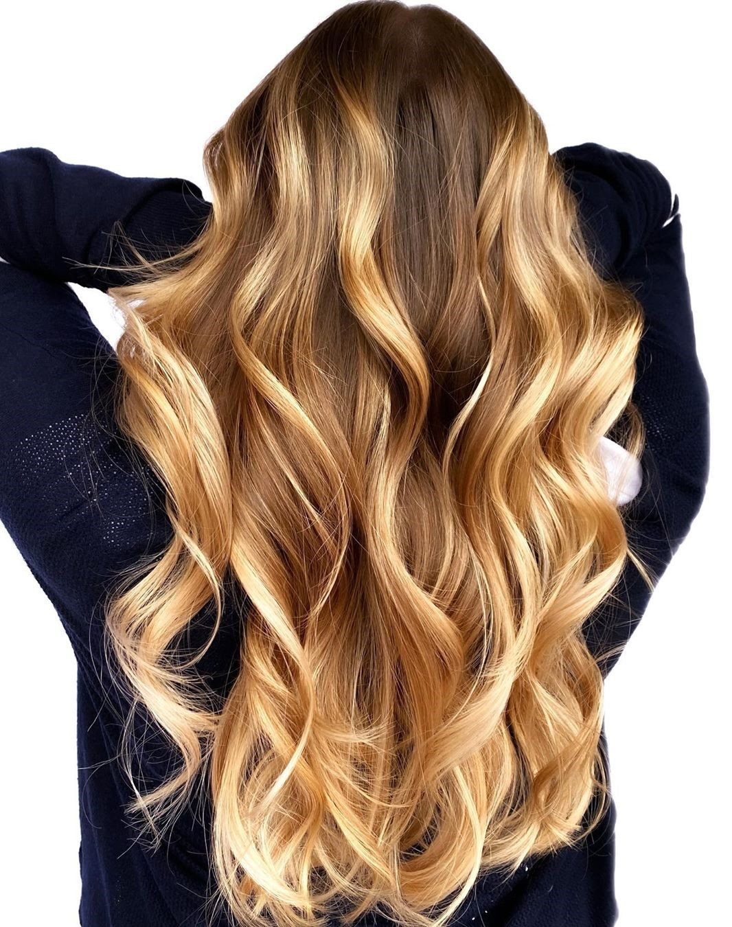 Caramel Blonde Hair Color
