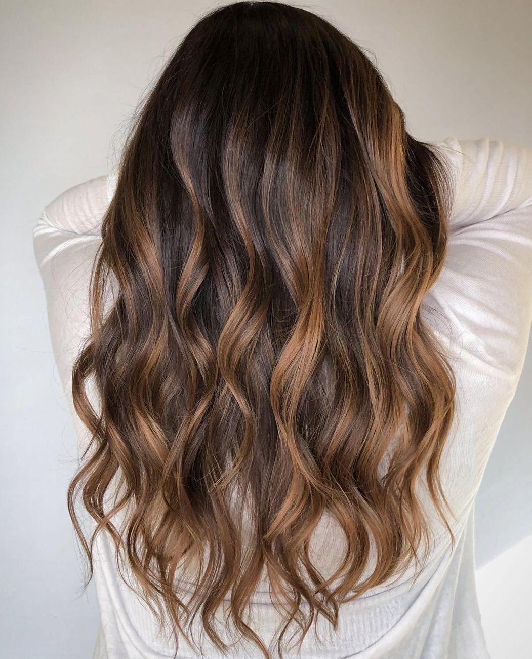 Walnut Brown Balayage Hair