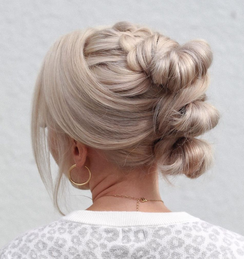Fancy Knotted Updo