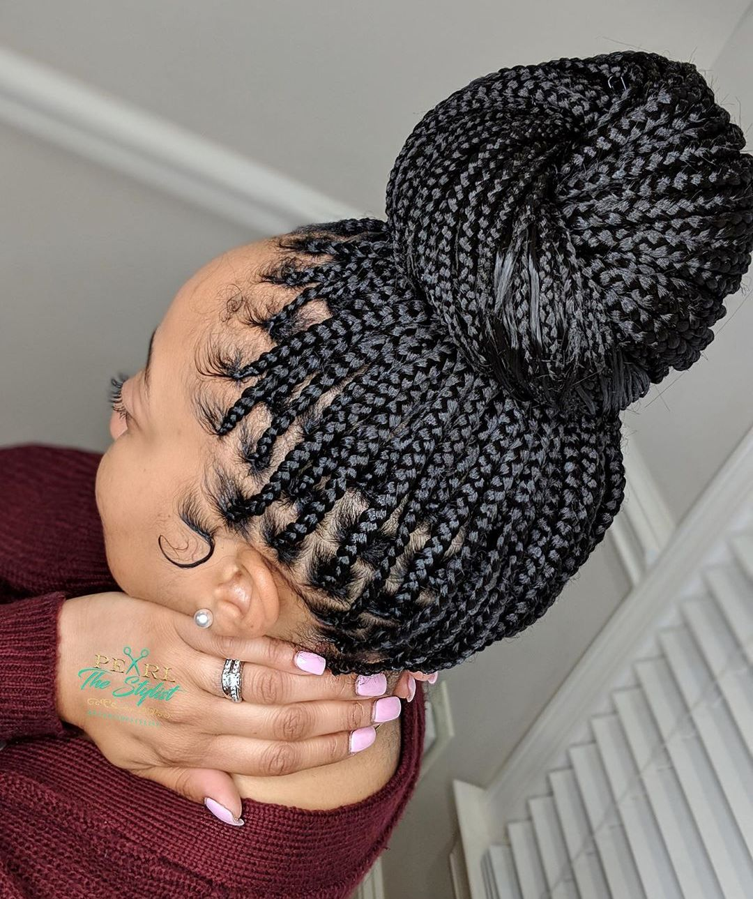 Small Braids in a High Bun