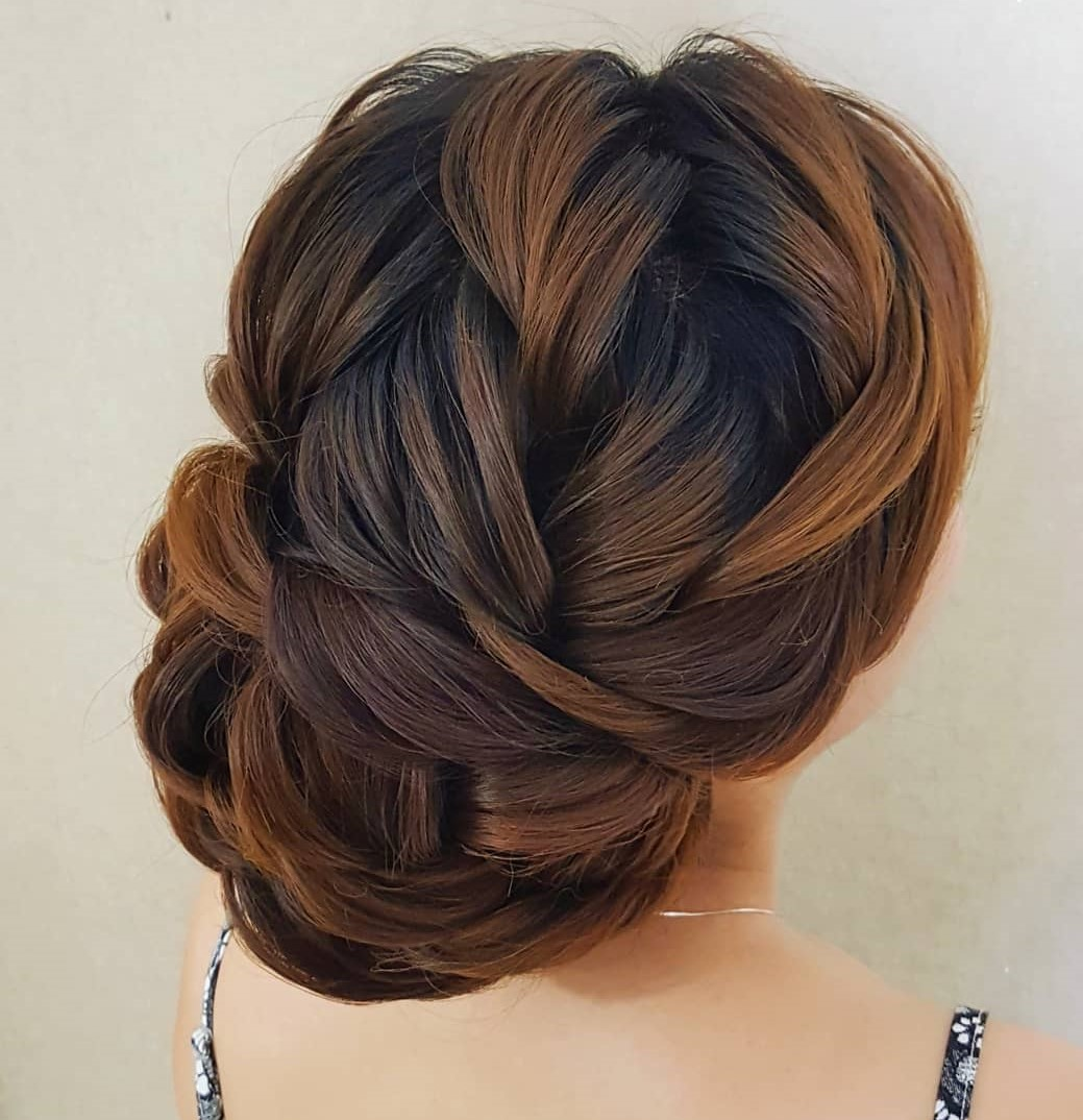 Chic Loose Prom Updo