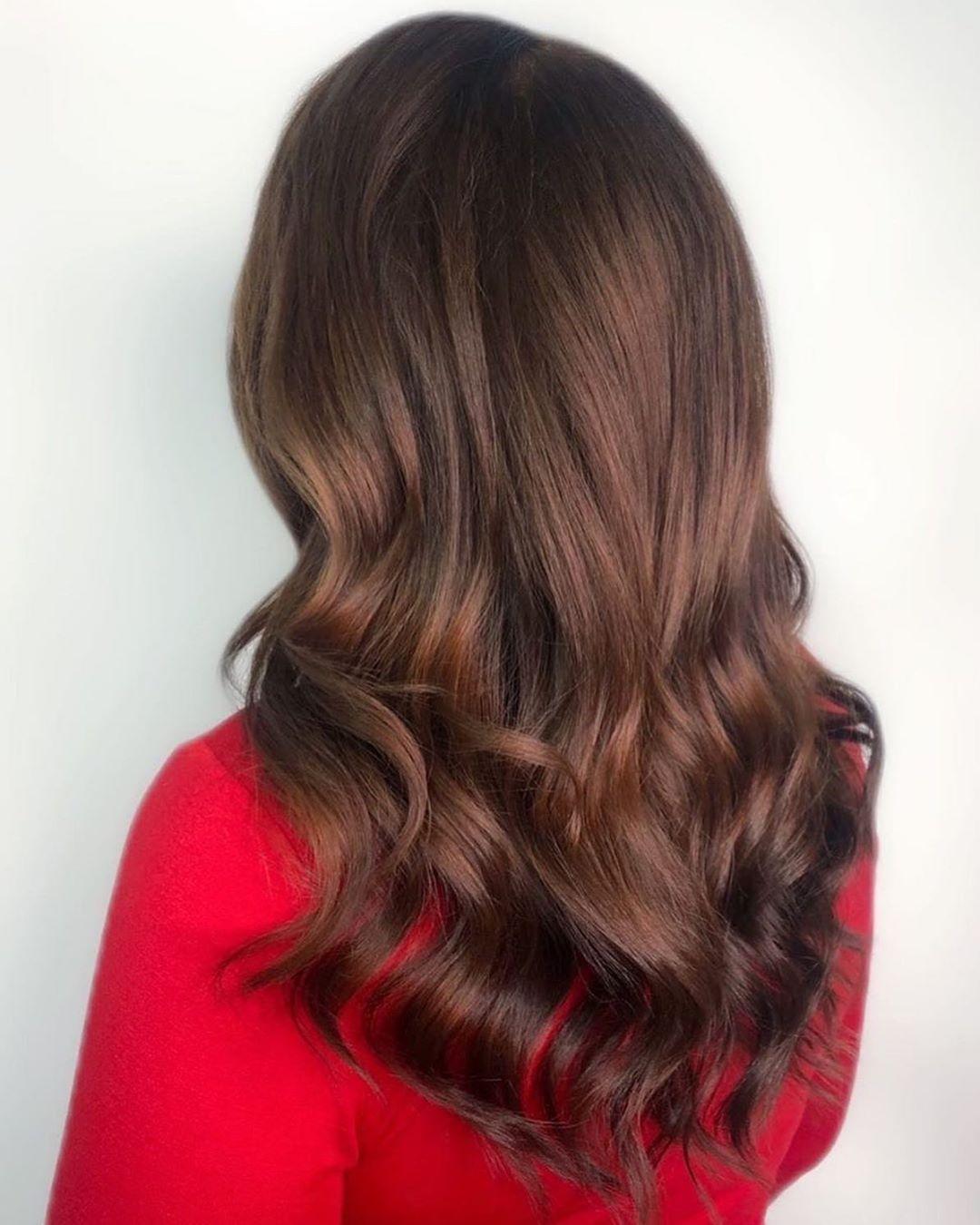 Royal Chocolate Brown Balayage Hair
