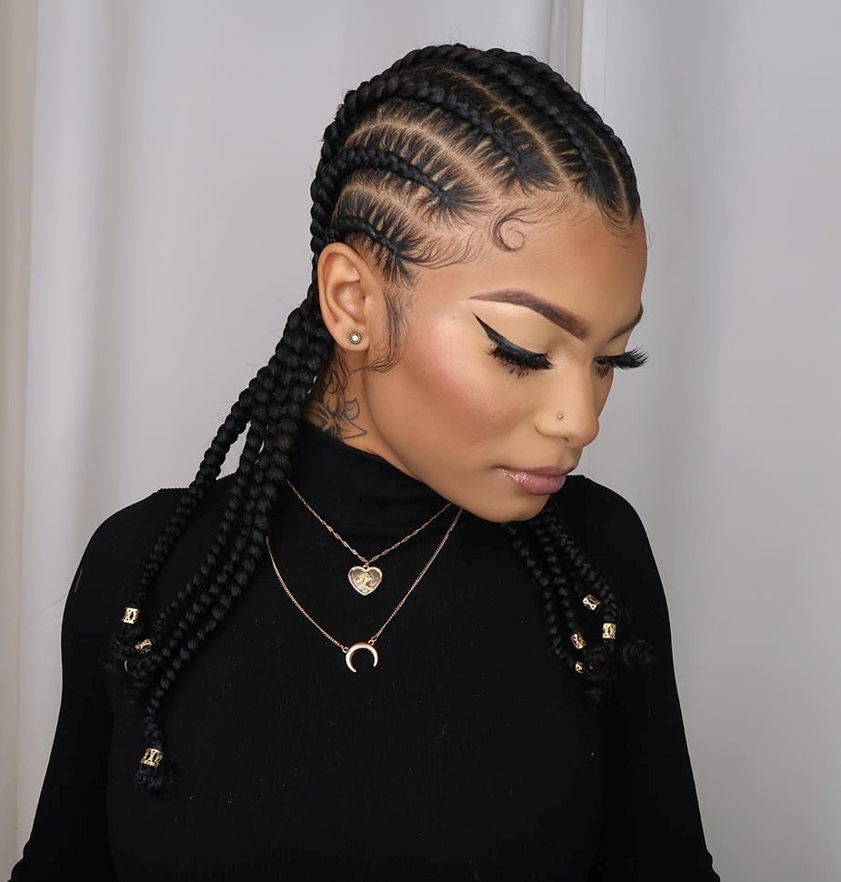 Simple Cornrows for Women