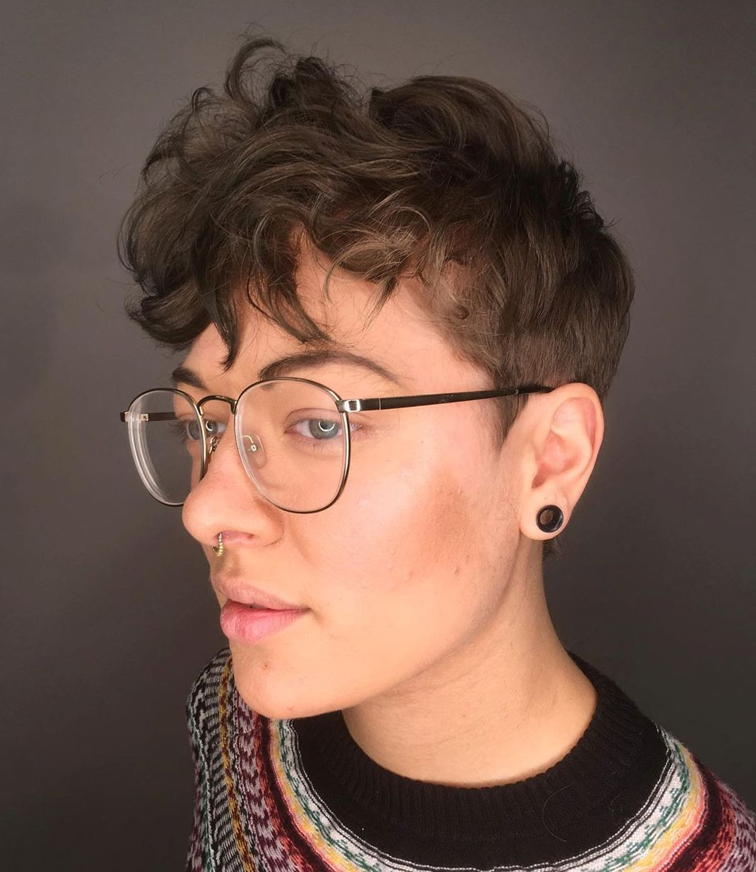 Short Sides Cut for Curly Hair