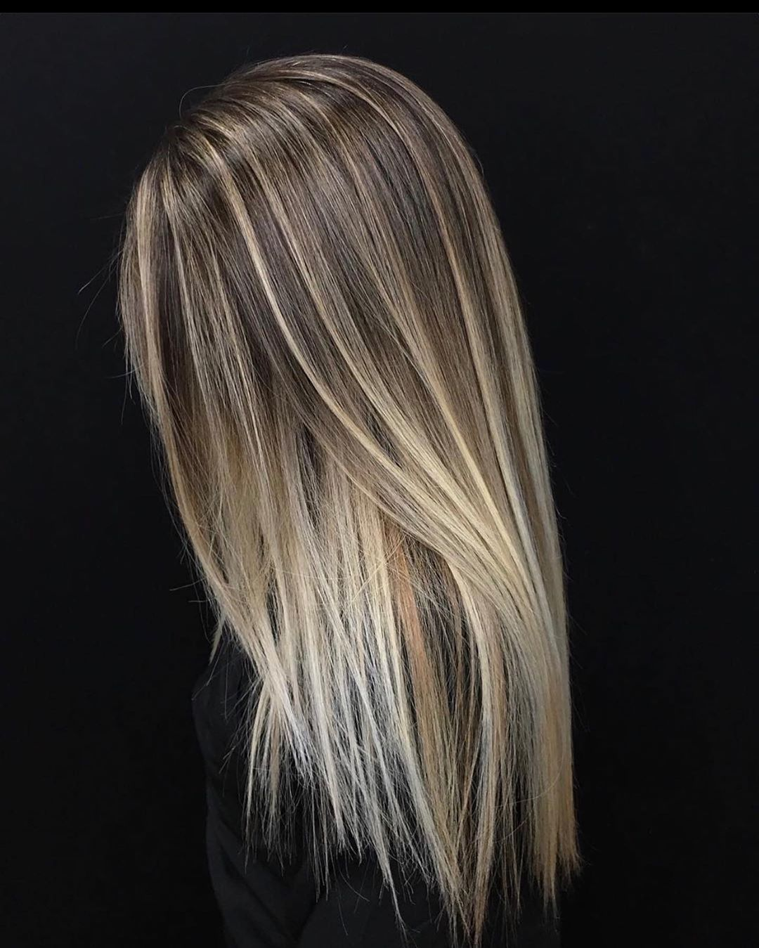 Dirty Blonde Balayage with Highlights