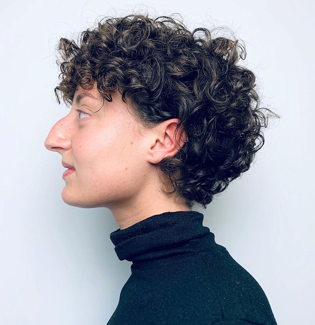 Short Haircut for Thick Curly Hair