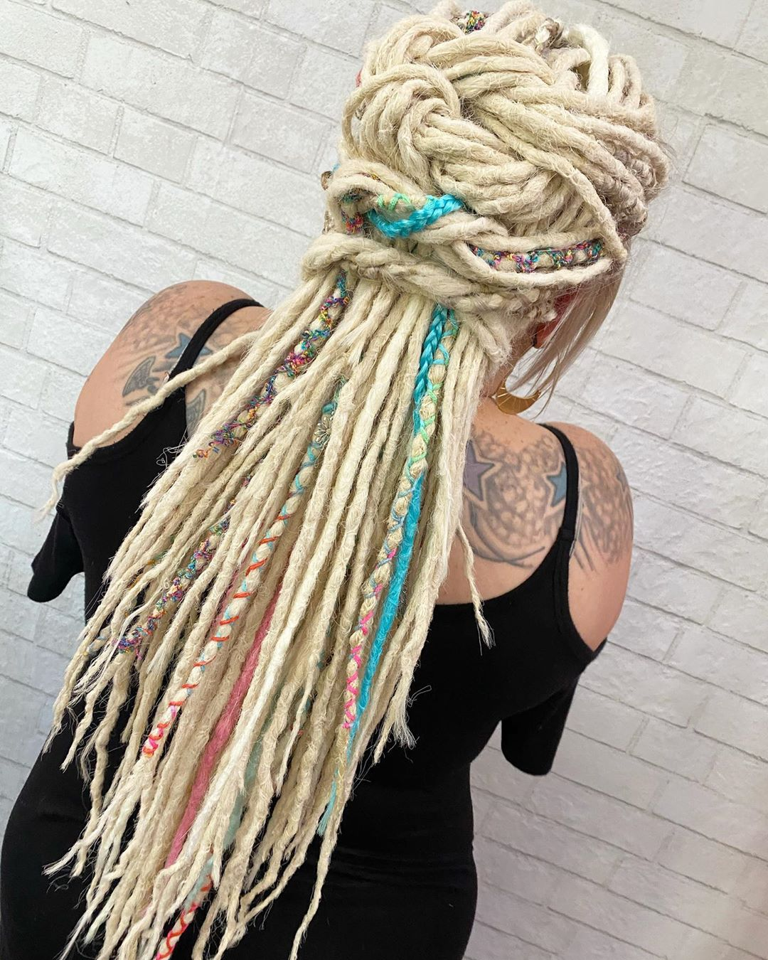 Dread Designs for Long Dreadlocks