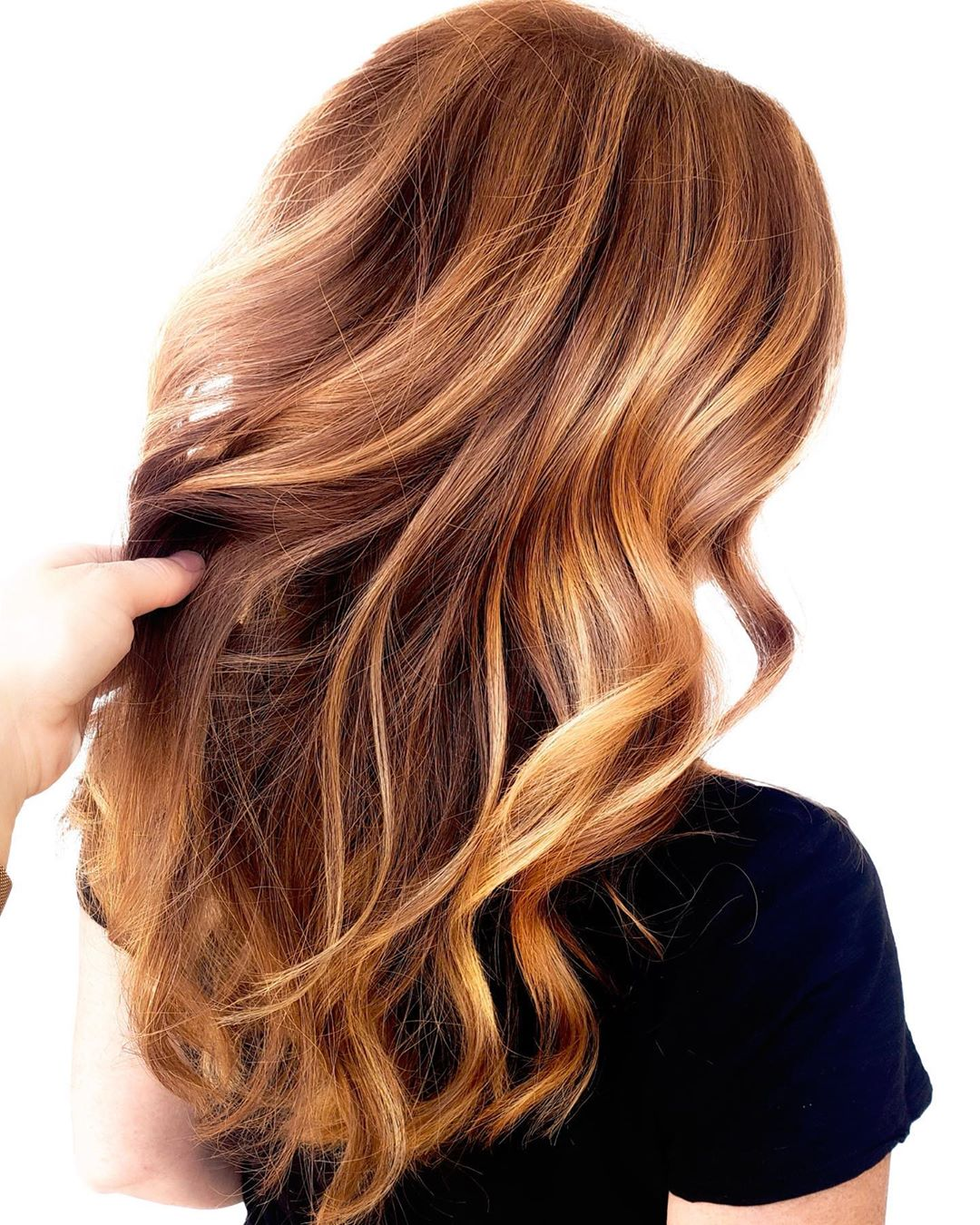 Strawberry Blonde Highlights for Light Brown Hair