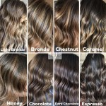 The Best Hair Color Chart With All Shades Of Blonde Brown Red Black