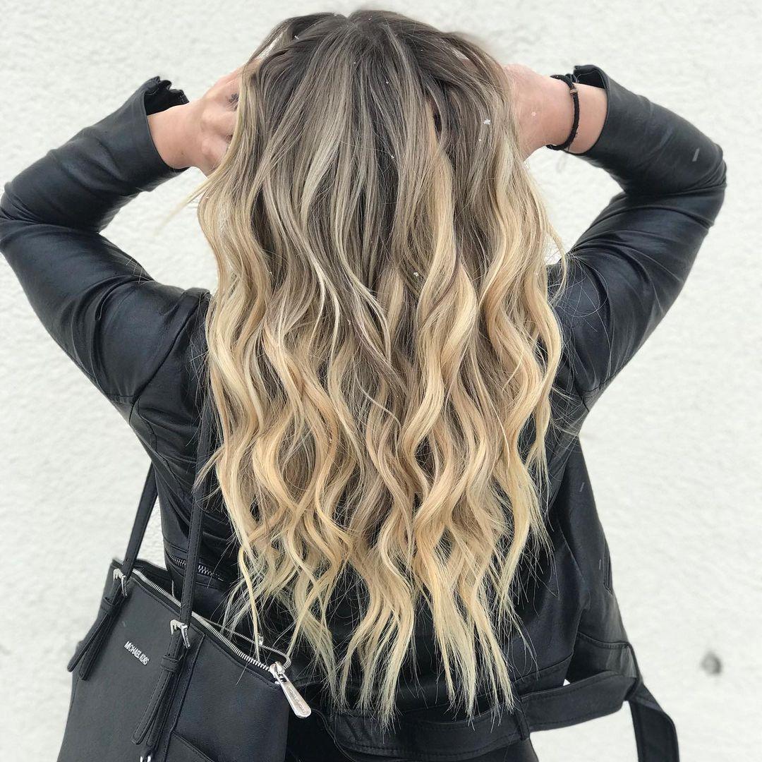 Long Classy Dirty Blonde Hair