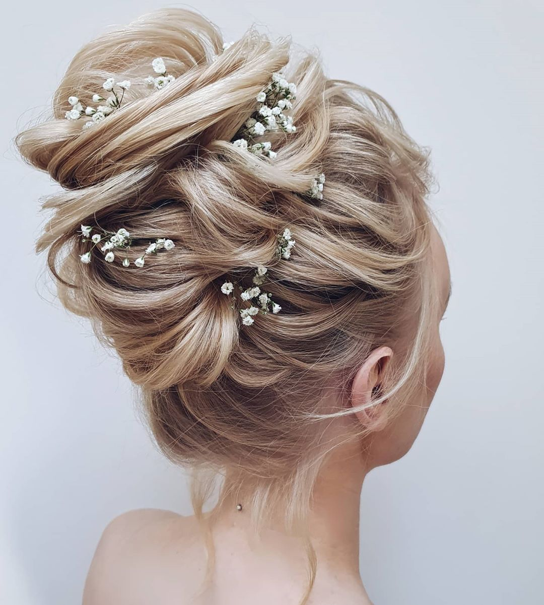 Delicate Messy Updo
