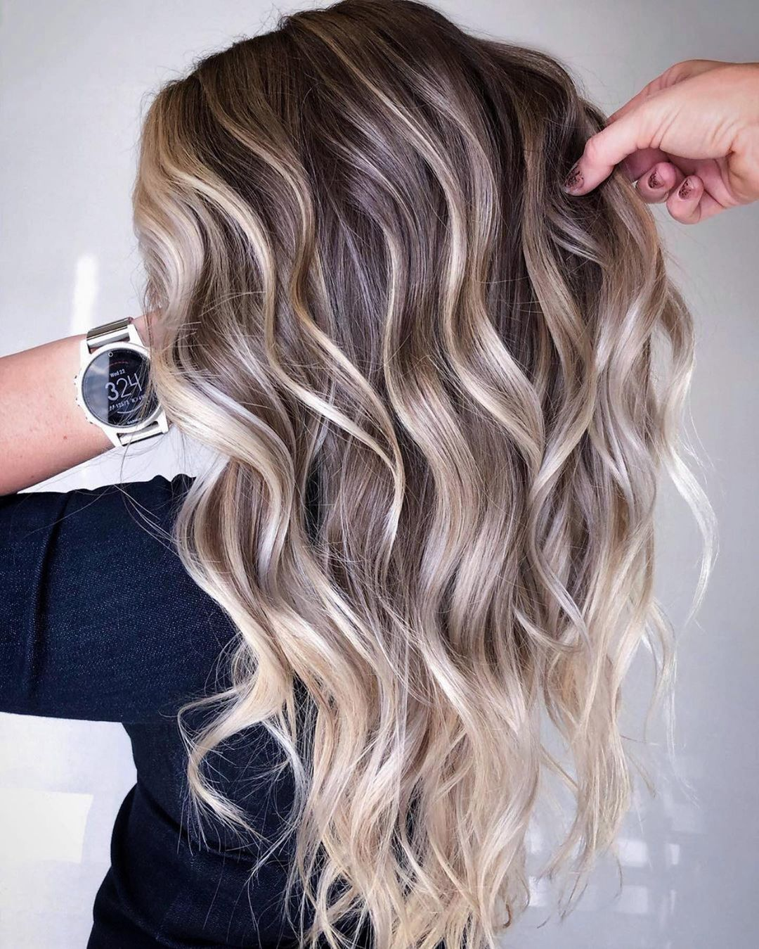 Dishwater Blonde Hair with Highlights