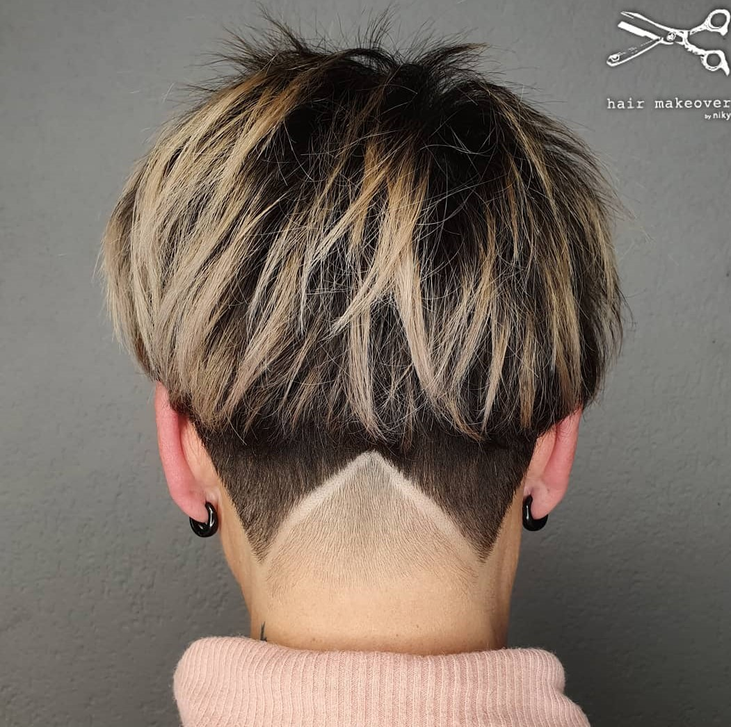 Bowl Cut with V Undercut